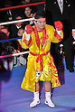 Suriyan Sor Rungvisai (THA),.MARCH 27, 2012 - Boxing :.Suriyan Sor Rungvisai of Thailand poses before the WBC super flyweight title bout at Korakuen Hall in Tokyo, Japan. (Photo by Hiroaki Yamaguchi/AFLO)