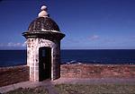Guardhouse at El Morro Castle