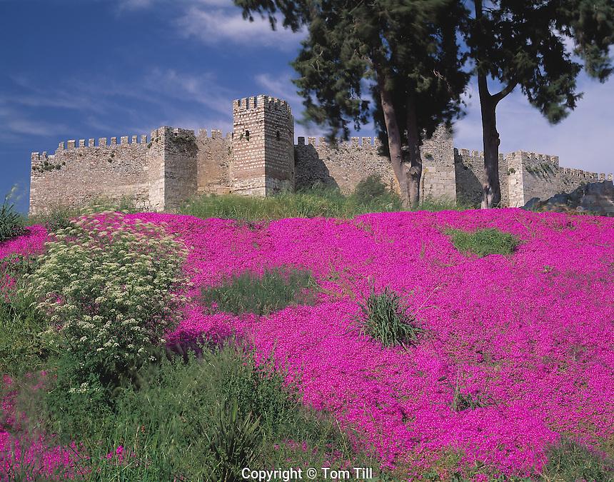 Castle of St. John  Ephesus, Turkey    Burial place of St. John Aegean Coast
