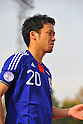 Maya Yoshida (JPN), NOVEMBER 11, 2011 - Football / Soccer : 2014 FIFA World Cup Asian Qualifiers Third round Group C match between Tajikistan - Japan at Central Stadium in Dushanbe, Tajikistan. (Photo by Jinten Sawada/AFLO)
