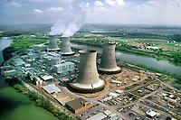 Three Mile Island Nuclear Reactor/Power Plant, Pennsylvania