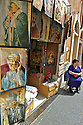 Merchandise of any kind is sold all around the Vatican area