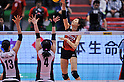 Saori Sakota (JPN),.MAY 23, 2012 - Volleyball : FIVB the Women's World Olympic Qualification Tournament for the London Olympics 2012, between Japan 1-3 Korea at Tokyo Metropolitan Gymnasium, Tokyo, Japan. (Photo by Jun Tsukida/AFLO SPORT) [0003].