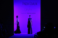 A model displays a creation by Mexican designer Pineda Covalin during the Mercedes Benz Fashion Week Mexico Spring/Summer 2015, in Mexico City, 09.30.2014. VIEWpress / Miguel Angel Pantaleon