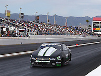 Feb 26, 2017; Chandler, AZ, USA; NHRA pro stock driver Val Smeland during the Arizona Nationals at Wild Horse Pass Motorsports Park. Mandatory Credit: Mark J. Rebilas-USA TODAY Sports