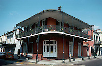 New Orleans:  House--corner of Dauphine and Orleans.