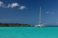 Catamaran at Isla Saona, Dominican Republic