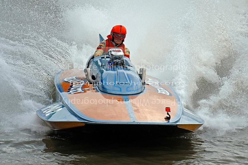 """Ron Snyder, H-202 """"Heavy Duty"""" (1964 Lauterbach 7 Litre/Grand Prix hydroplane)"""
