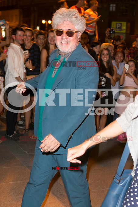 Pedro Almodovar attends the party of Nike and Roberto Tisci at the Casino in Madrid, Spain. September 15, 2014. (ALTERPHOTOS/Carlos Dafonte) /NortePhoto.com