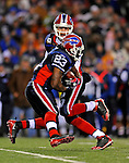 17 November 2008: Buffalo Bills' quarterback Trent Edwards hands off to running back Marshawn Lynch in the first quarter against the Cleveland Browns at Ralph Wilson Stadium in Orchard Park, NY. The Browns defeated the Bills 29-27 in the Monday Night AFC matchup. *** Editorial Sales Only ****..Mandatory Photo Credit: Ed Wolfstein Photo