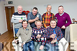 Sunday Club Rock Street lads enjoying a christmas get together at La Scala's on Saturday Pictured Front l-r Mike Maher, Mike O'Shea, Paschal Power. Back l-r Richard Ahern, Brendan Power, James O'Brien, Brian O'Shea