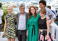 Michelle Williams, Todd Haynes, Julianne Moore, Jaden Michael &amp; Millicent Simmonds at the photocall for &quot;Wonderstruck&quot; at the 70th Festival de Cannes, Cannes, France. 18 May 2017<br /> Picture: Paul Smith/Featureflash/SilverHub 0208 004 5359 sales@silverhubmedia.com