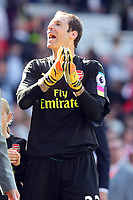 Petr Cech of Arsenal after Arsenal vs Everton, Premier League Football at the Emirates Stadium on 21st May 2017
