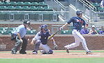 Ole Miss' Alex Yarbrough vs. TCU in an NCAA Regional Game at College Station, Texas on Friday, June 1, 2012. Ole Miss won 6-2.