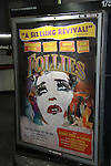 Opening Night - Follies poster, a James Goldman & Stephen Sondheim's classic musical on September 12, 2011 at the Marquis Theatre, New York City, New York. (Photo by Sue Coflin/Max Photos)