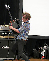 Peabody performing at the 2006 Sydney Big Day Out Festival