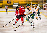 25 November 2016: University of Vermont Catamount Defender Sammy Kolowrat, a Sophomore from Prague, the Czech Republic, in action against the Saint Cloud State Huskies at Gutterson Fieldhouse in Burlington, Vermont. The Lady Cats defeated the Huskies 5-1 to take the first game of the 2016 Windjammer Classic Tournament. Mandatory Credit: Ed Wolfstein Photo *** RAW (NEF) Image File Available ***