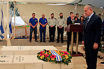 The reinterment ceremony of Lt Col John Henry Patterson in Moshav Avihayil