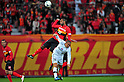 (L to R) Daniel Silva Dos Santos (Grampus), Sinji Ono (S-Pulse), MARCH 10, 2012 - Football /Soccer : 2012 J.LEAGUE Division 1 ,1st sec match between Nagoya Grampus 1-0 Shimizu S-Pulse at Toyota Stadium, Aichi, Japan. (Photo by Jun Tsukida/AFLO SPORT) [0003]