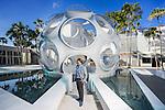 Rodman Primack, executive director of Design Miami, photographed at Palm Court