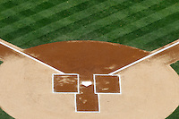 27 May 2013:  generic ball field home plate base graphic.