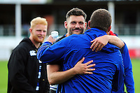 Jeff Williams of Bath Rugby looks on after the match. Pre-season friendly match, between the Scarlets and Bath Rugby on August 20, 2016 at Eirias Park in Colwyn Bay, Wales. Photo by: Patrick Khachfe / Onside Images