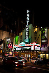 The Pantages theater in Holywood, CA