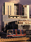 Docklands Light Railway (DLR), London, England