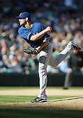 04 October 2009: Texas Rangers relief pitcher Darren O'Day came in for relief in the 7th inning against the Seattle Mariners. Seattle won 4-3 over the Texas Rangers at Safeco Field in Seattle, Washington.