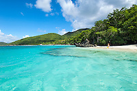 Little Cinnamon Beach looking towards Cinnamon Bay<br />