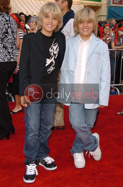 Cole Sprouse and Dylan Sprouse<br />