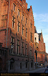 Hogeschool West-Vlanderen, Howest College, 14th-19th c. Architecture, Sint-Jorisstraat, Bruges, Brugge, Belgium