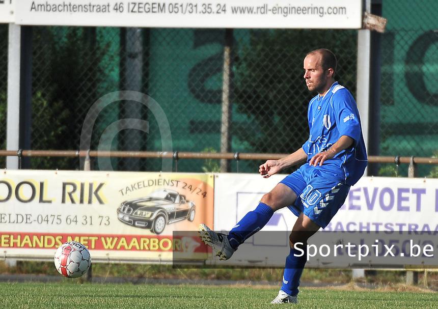 KSV Rumbeke : Pieter Vanackere<br /> foto VDB / Bart Vandenbroucke