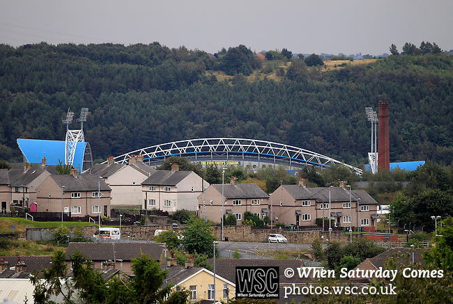 Huddersfield Town 1 Wolverhampton Wanderers 0, 27/08/2016. John Smith's Stadium, Championship. View of the John Smiths Stadium. Photo by Paul Thompson.