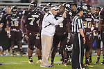 Ole Miss vs. Mississippi State Head Coach Dan Mullen in Starkville, Miss. on Saturday, November 26, 2011.