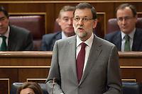 Plenary debate at Spanish Parliament