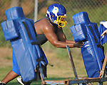 Oxford High football practice in Oxford, Miss. on Monday, August 1, 2011.