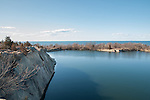 Granite quarry at Halibut Point, Rockport, MA