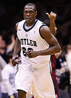 INDIANAPOLIS, IN - JANUARY 26: Khyle Marshall #23 of the Butler Bulldogs is seen during the game against the Temple Owls at Hinkle Fieldhouse on January 26, 2013 in Indianapolis, Indiana. (Photo by Michael Hickey/Getty Images) *** Local Caption *** Khyle Marshall