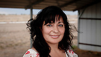 Maria Qutierrez a Mexican woman who moved to Dodge CIty, Kansas to work in the meat packing industry. The area is home to many migrant workers who have come to the town to work in its meat packing plants. Kansas dominates the American beef industry, producing 25% of all beef raised in the USA. However, the industry is heavily dependent on cheap immigrant labour.