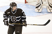 Laurie Jolin (Brown - 28) - The Boston College Eagles defeated the visiting Brown University Bears 5-2 on Sunday, October 24, 2010, at Conte Forum in Chestnut Hill, Massachusetts.