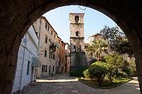 Chuch of St. Marija Koldata trough town gates - Kotor - Montenegro