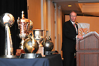 DC United President and CEO Kevin Payne, at the 2011 Season Kick off Luncheon, at the Marriott Hotel in Washington DC, Wednesday March 16 2011.