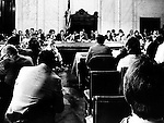 Senate hearing room where Senate Watergate committee revealed that President Richard Nixon had a tape recording system in his office,  Senate hearing room where Senate Watergate committee revealed that President Richard Nixon had a tape recording system in his offices and that he had recorded many conversations implicated the president attempt to cover up the break-in at the Democratic National Committee headquarters, Watergate scandal was a political scandal in the United States in the 1970's resulting from the break-in into the Democratic National Committee headquarters at the Watergate office complex in Washington, D.C. which ultimately let to the resignation of President Richard Nixon,