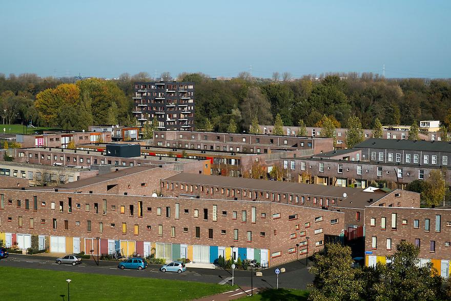 Nederland, Amsterdam, 1 nov 2014<br /> Bijlmer, Amsterdam zuid-oost, omgeving Kleiburg<br /> Foto: (c) Michiel Wijnbergh