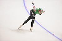 SCHAATSEN: CALGARY: Olympic Oval, 09-11-2013, Essent ISU World Cup, 1500m, Tatyana Mikhailova (BLR), ©foto Martin de Jong