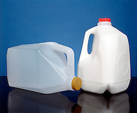 POLYETHYLENE - HIGH DENSITY: ONE GALLON CONTAINERS<br /> Molecular Masses In The Range Of 1,000,000 amu.(milk &amp; water)