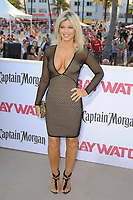 MIAMI BEACH, FL - MAY 13: Donna D'errico attends the Baywatch Movie Premiere at Lummus Park on May 13, 2017 in Miami Beach, Florida. Credit: mpi04/MediaPunch
