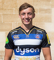 Darren Atkins poses for a portrait at a Bath Rugby photocall. Bath Rugby Media Day on September 8, 2015 at Farleigh House in Bath, England. Photo by: Rogan Thomson for Onside Images