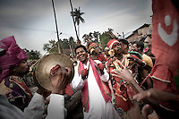 Dongria Kondh tribespeople celebrate their annual festival in Lanjigarh.